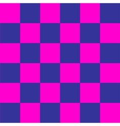 Cosmos Purple Blue Pink Chess Board Background vector