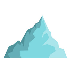 iceberg icon isolated vector image