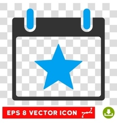 Star Calendar Day Eps Icon vector