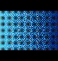 the banner blue sequins mosaic sequins glitter vector image