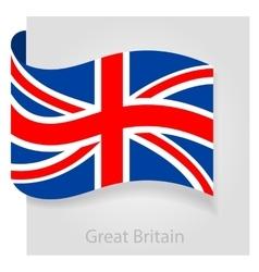 United Kingdom flag vector image