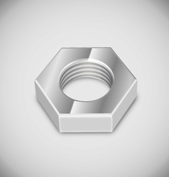 bolt nut vector image