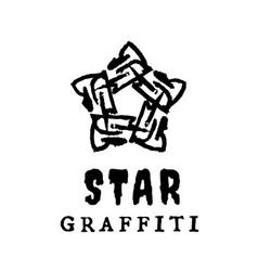 star logo vector image