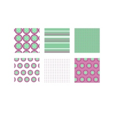 Romantic patterns vector image