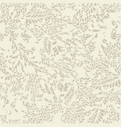Abstract floral pattern leaves seamless texture vector