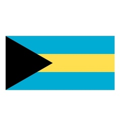Bahamas flag vector