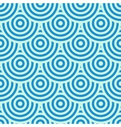 Blue circles background vector