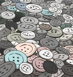 buttons background Cartoon style vector image