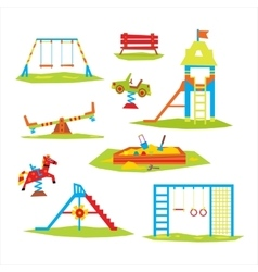 Children Playground Colourful vector image