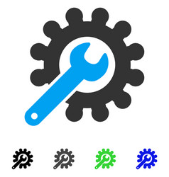 Customization tools flat icon vector
