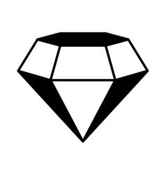 Game diamond isolated icon vector