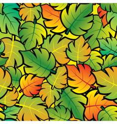 leaf abstract background vector image
