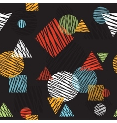 pop art retro seamless background pattern vector image