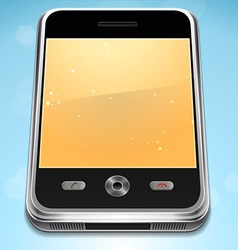 Realistic Cell Phone vector image