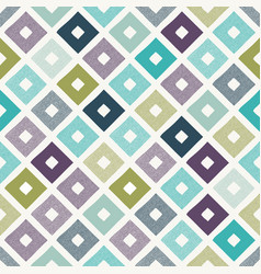 seamless creative stylish modern rhombus pattern vector image