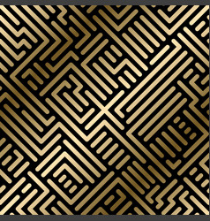 seamless geometric striped pattern vector image