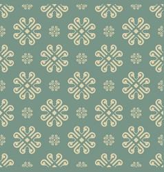 Vintage background seamless pattern - tile vector