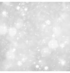 Silver sparkles background christmas vector