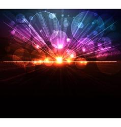 digital burst vector image