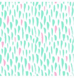 seamless pattern trendy brush strokes vector image vector image