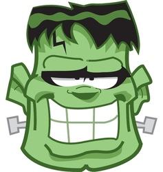 Frankenstein Head vector image vector image