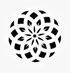 abstract circular 0021 vector image