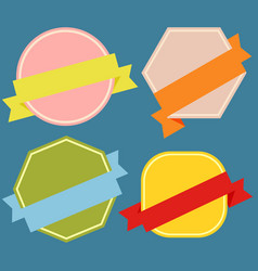 badges-01 vector image