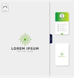 Brain molecular tech logo template and free vector