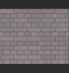 brick tiles as background vector image