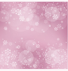christmas winter red background vector image