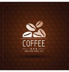 Coffee bean vector