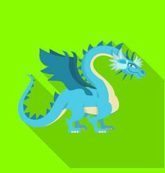 Design dragon and predator logo set of vector