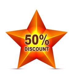 Discount Tag vector image