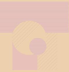 futuristic geometric background vector image