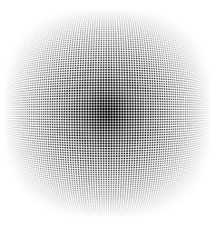 Half-tone dots circles dotted element sphere orb vector