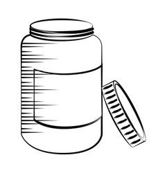 Medicine drugs isolated icon vector