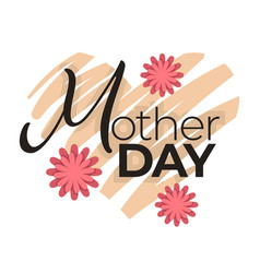 mother day isolated icon mom holiday celebration vector image