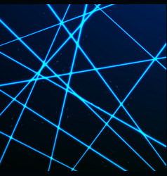 Random laser mesh security blue beams isolated vector
