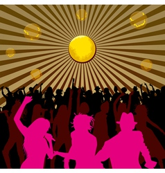 Disco Backgrounds 03 vector image