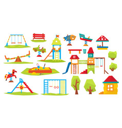 children playground vector image