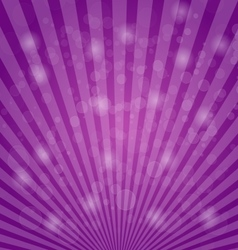 Abstract bokeh on purple background vector