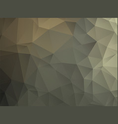 abstract geometric triangle dark brown leather vector image
