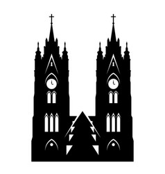 basilica of the national vow vector image