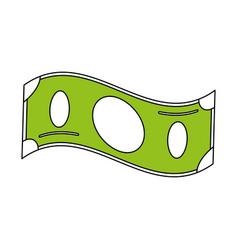 Cash money bills icon image vector
