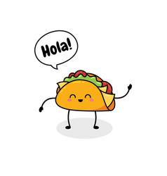 Fast food cartoon doodle vector