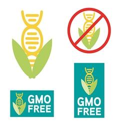 GMO free icon symbol desig vector