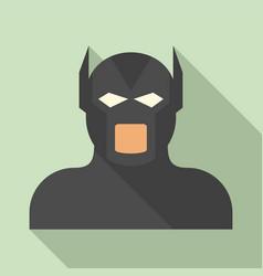 Movie superhero icon flat style vector