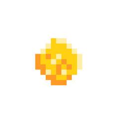 pixel arcade game icon vector image