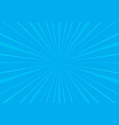 popular blue sky ray sun light star burst vector image
