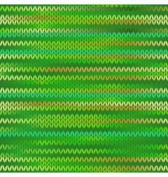 Style seamless knitted melange pattern spring vector